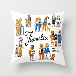 Familia Throw Pillow