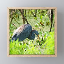 hunting Framed Mini Art Print