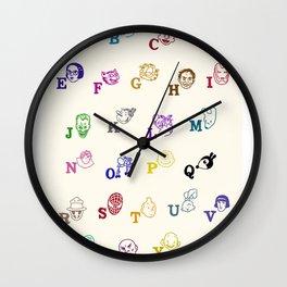 ABComics Wall Clock