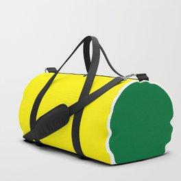 TEAM COLORS 10 ...YELLOW,GREEN Duffle Bag