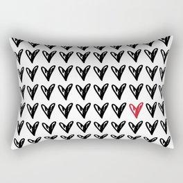 HEARTS ALL OVER PATTERN V Rectangular Pillow