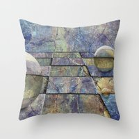 chess Throw Pillows featuring Chess by eMBie