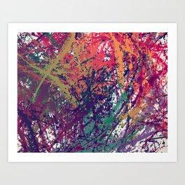 Breakdown Art Print