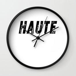 Haute (High) Wall Clock