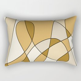 Remain Neutral Rectangular Pillow