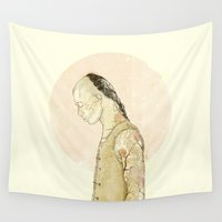 spirit Wall Tapestries featuring Spirit by Mike Koubou