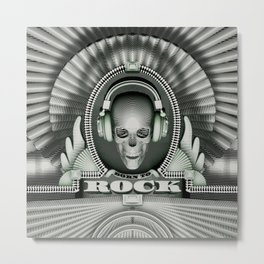 Currency of Rock / Accept no substitutes Metal Print