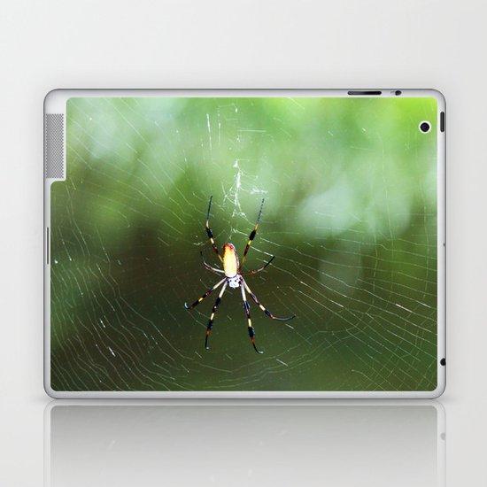 Step Into My Parlor  Laptop & iPad Skin