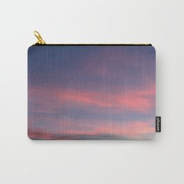 Pink sky in evening Carry-All Pouch