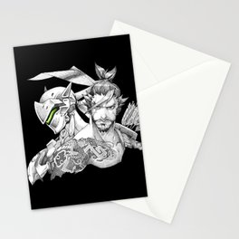 Genji & Hanzo Stationery Cards