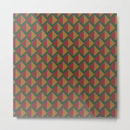 Pattern J 9 Metal Print