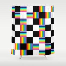 Chessboard 2013 Shower Curtain