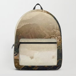 explore. golden Backpack