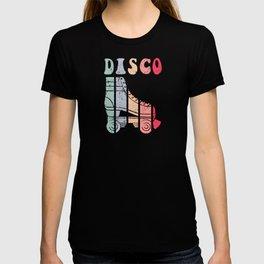 70s Roller Skates Disco Derby Retro T-shirt