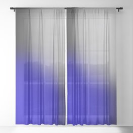 Simple Gradient 1 Sheer Curtain