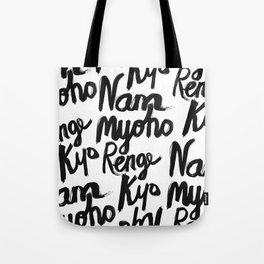 Nam Myoho Renge Kyo Tote Bag