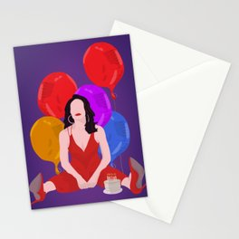 Bobbie And Balloons - Company Musical Stationery Cards