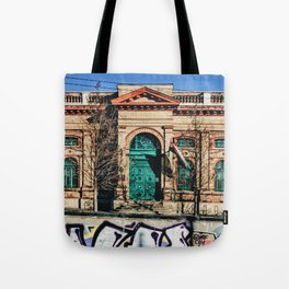 Overlapped Tote Bag