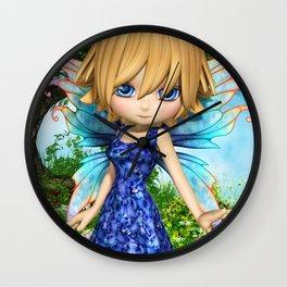 Lil Fairy Princess Wall Clock