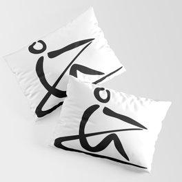 Rowing Logo 1 Pillow Sham