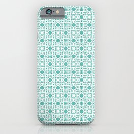 Mint Julep Print iPhone Case