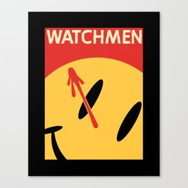 Who Watches Who? Canvas Print