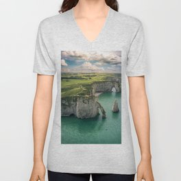 Elephant cliffs Unisex V-Neck
