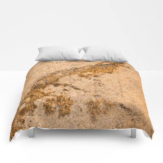Vintage Moss Flourishes Comforters