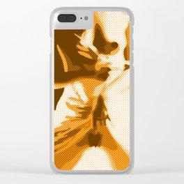 """Flash"" Female Nude Erotic Art Clear iPhone Case"