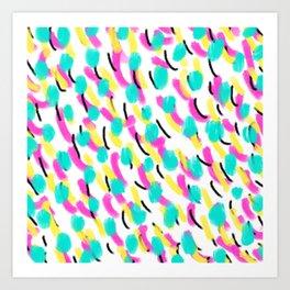Hello Miami Art Print