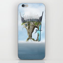 Last Island iPhone Skin