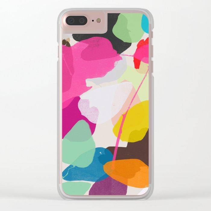 golden rain 1 Clear iPhone Case