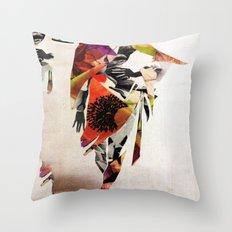 mid summer Throw Pillow