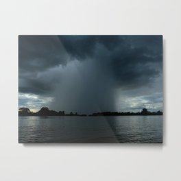 When It Rains Metal Print