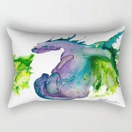 Wildfire Water Dragon Rectangular Pillow