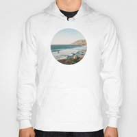 big sur Hoodies featuring Big Sur Cairn by M. Wriston