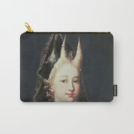A HORNED WITCH, 18TH CENTURY - ARTIST UNKNOWN Carry-All Pouch