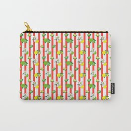 Stipes and citrus Carry-All Pouch