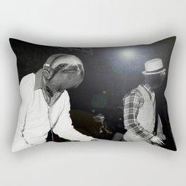 Last Night A Sloth Saved My Life Rectangular Pillow