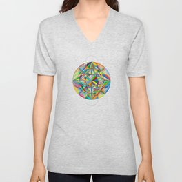 Twinkle Star - The Sacred Geometry Collection Unisex V-Neck