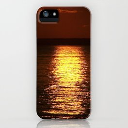 Gold From Above iPhone Case