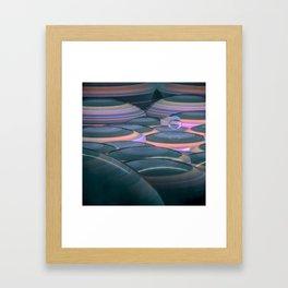 fragile orb nest Framed Art Print