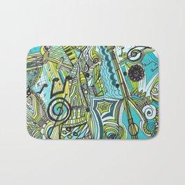 Musically Aqua Bath Mat