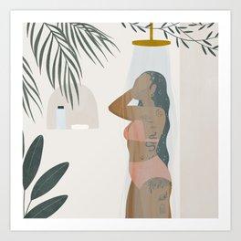 the rinse Art Print