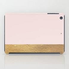 Color Blocked Gold & Rose iPad Case