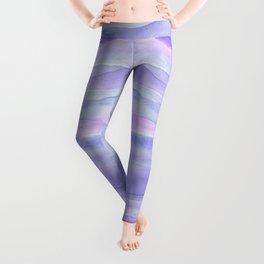 Ultra Violet Watercolor Layers Leggings