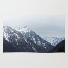 Mountains Austria Rug