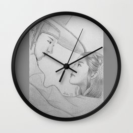 Scholar Who Walks the Night Wall Clock