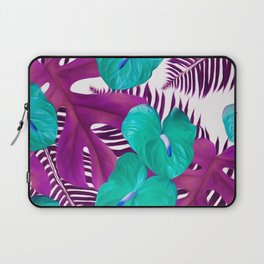 Anthurium purple Laptop Sleeve