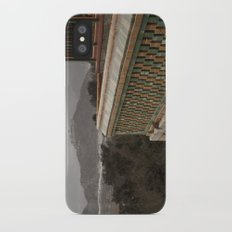 A View to a Hill Slim Case iPhone X